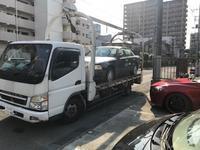 横浜市西区から他人名義の故障車をレッカー車で廃車の引き取りしました。 - 廃車戦隊引き取りレンジャー
