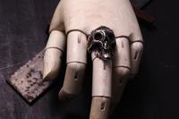 1st スカルリング  MHR-01 / MOHICAN XXXXX SILVER AXXXXXESSORY - アクセサリー職人 モリタカツヤ MOHICAN XXXXX  Jewelry Factory KUROBE