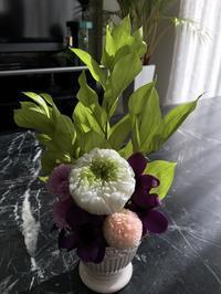 レッスンレポ【仏花】 - あなたに贈るMonReve