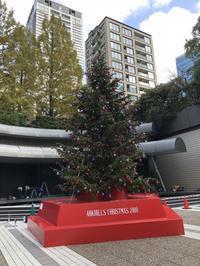 11月トレーニング総括、再現性、●●三田会、アークヒルズ訪問 - 六本木ヒルズ48階から見た空