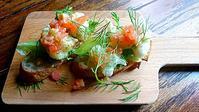 真鱈の白子のフリットのブルスケッタはケッカソース - わっぜ美味しい鹿児島としかぷーレシピ
