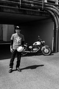河西 浩司 & kawasaki ESTRELLA(2018.07.22/YAMANASHI) - 君はバイクに乗るだろう