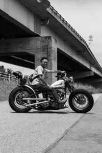 初鹿 勇太 & Harley-Davidson FXWG(2018.07.22/YAMANASHI) - 君はバイクに乗るだろう