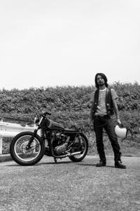 寄特 裕志 & YAMAHA XS650SP(2018.07.22/YAMANASHI) - 君はバイクに乗るだろう