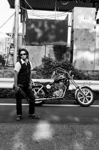 窪田 賢吾 & YAMAHA SR400(2018.07.22/YAMANASHI) - 君はバイクに乗るだろう