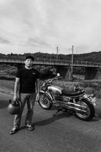 菅原 英敏 & YAMAHA XS1B(2018.08.19/SHIRAKAWA) - 君はバイクに乗るだろう