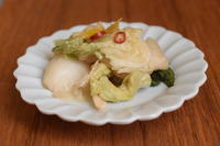 季節の漬物*ポリ袋で白菜漬けを作る - 小皿ひとさら
