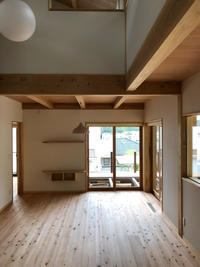 ポンちゃんの家竣工 - 国産材・県産材でつくる木の住まいの設計 FRONTdesign  設計blog