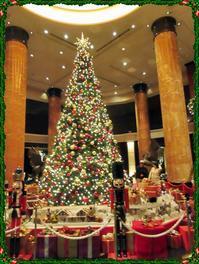 【ウェスティン東京のクリスマスツリー】 - お散歩アルバム・・毎日がキャベツ曜日