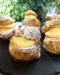 パリパリシュークリーム - 調布の小さな手作りお菓子教室 アトリエタルトタタン