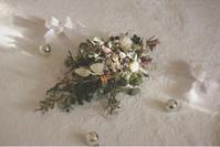 クリスマススワッグのグループレッスン♪ - driedflower arrangement ✦︎ botanical accessory ✦︎ yukonanai ✦︎