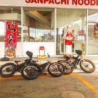 定山渓自然の村までファットバイクで行って来ました! - 秀岳荘自転車売り場だより
