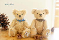 first teddy for baby boys ファーストテディ for ボーイズ - teddy blue