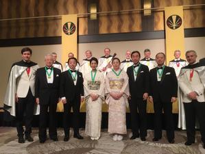 2018年度シャンパーニュ騎士団叙任式典 GRAND CHAPITRE DE NAGOYA 🥂 - 八巻多鶴子が贈る 華麗なるジュエリー・デイズ