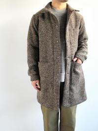 EG WorkadayShop Coat - Tri Blend Wool Tweed / Brown - 『Bumpkins putting on airs』