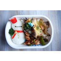 ベイマックス雪だるま弁当 - cuisine18 晴れのち晴れ