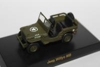 1/64 Kyosho USA Sports Car 2 Jeep Willys MB - 1/87 SCHUCO & 1/64 KYOSHO ミニカーコレクション byまさーる