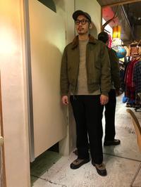 素材違いのFlightJacket!!(マグネッツ大阪アメ村店) - magnets vintage clothing コダワリがある大人の為に。
