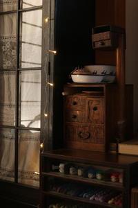 小さなライトアップで、クリスマス気分に... ~嬉しい贈り物も♪~ - キラキラのある日々
