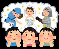 ママの真似(松浦) - 柚の森の仲間たち