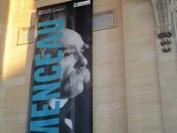 クレマンソー展、パリのパンテオンにて - フランス Bons vivants des marais