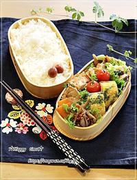 柚子胡椒で肉野菜炒め弁当と今夜は塩鯖定食♪ - ☆Happy time☆