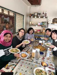 インドネシアから日本にやってきた理由にびっくり仰天!!「世界の料理教室」開催報告 - 噂のさあらさんのブログ