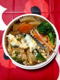 玉子カツ丼★(^^♪・・・・・さやちゃん弁当 - 日だまりカフェ