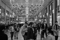 梅田阪急百貨店前 - 漂いながら