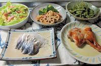 鶏もも足のオーブン料理 - 楽しい わたしの食卓