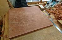 花梨テーブル、座卓製作その3座卓完成 - KAKI CABINETMAKER