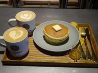 猿田彦珈琲 調布焙煎ホールさんでホットケーキ - *のんびりLife*