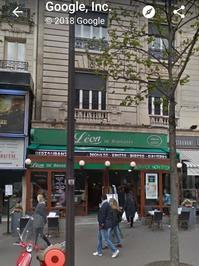 パリ旅行記 パリのおひるごはん - Le Petit Trēsor