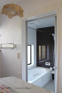 お風呂リフォーム『LIXILアライズ』&セリアのリメイククッションシートでビフォーアフター♪ - neige+ 手作りのある暮らし