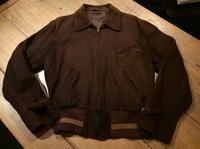 ~40's nubuck sports jacket - BUTTON UP clothing