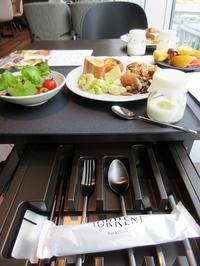 【渋谷ストリームエクセルホテル東急】Torrentで朝食ビュッフェ - お散歩アルバム・・春日和花粉日和