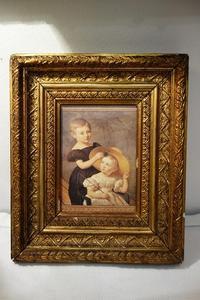 木製金彩額833 - スペイン・バルセロナ・アンティーク gyu's shop