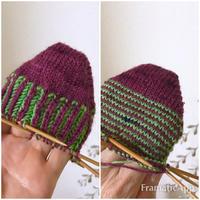靴下とサンタさん - セーターが編みたい!