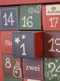 大人用アドベンツカレンダー(頂き物) - ドイツで手作り田舎ぐらし