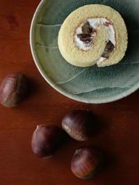 渋皮煮ロールケーキ - Baking Daily@TM5