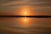 ウトナイ湖の夜明け2018.12.3 - やぁやぁ。