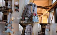 """BRAHMIN ❅ Winter SPECIAL 2018 with Cashmere Bear...12/3mon"" - SHOP ◆ The Spiralという館~カフェとインポート雑貨のある次世代型セレクトショップ~"