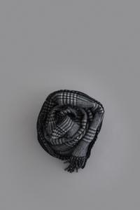 COMME des GARCONS HOMMEGlen Check × Black Stole - un.regard.moderne