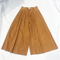 コットンワイドパンツ - 「NoT kyomachi」はレディース専門のアメリカ古着の店です。アメリカで直接買い付けたvintage 古着やレギュラー古着、Antique、コーディネート等を紹介していきます。