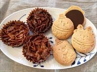 フロランタンチョコとクリスマススタンプクッキー - 調布の小さな手作りお菓子教室 アトリエタルトタタン