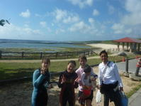 マラソンを終えて・・・・~大度海岸(ジョン万ビーチ)シュノーケリング~ - 沖縄本島最南端・糸満の水中世界をご案内!「海の遊び処 なかゆくい」