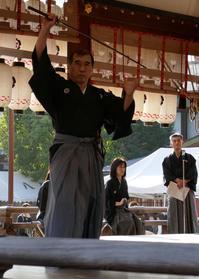 八坂神社奉納演武⑶ - アンチLEICA宣言