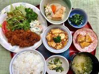 豚カツ★(^^♪・・・・・700円ランチ - 日だまりカフェ