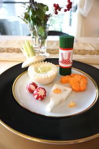 飾り切りカービングレッスン - Yoko Maruyama Tablecreation