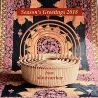 Season's Greetings 2018 - handvaerker ~365 days of Nantucket Basket~